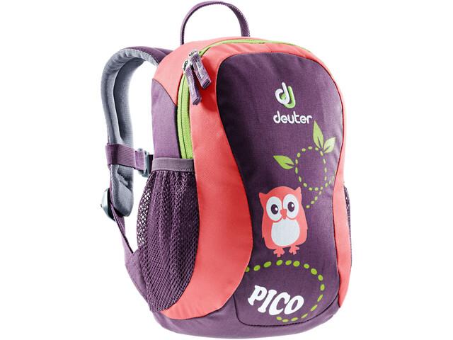 Deuter Pico Backpack Barn plum-coral